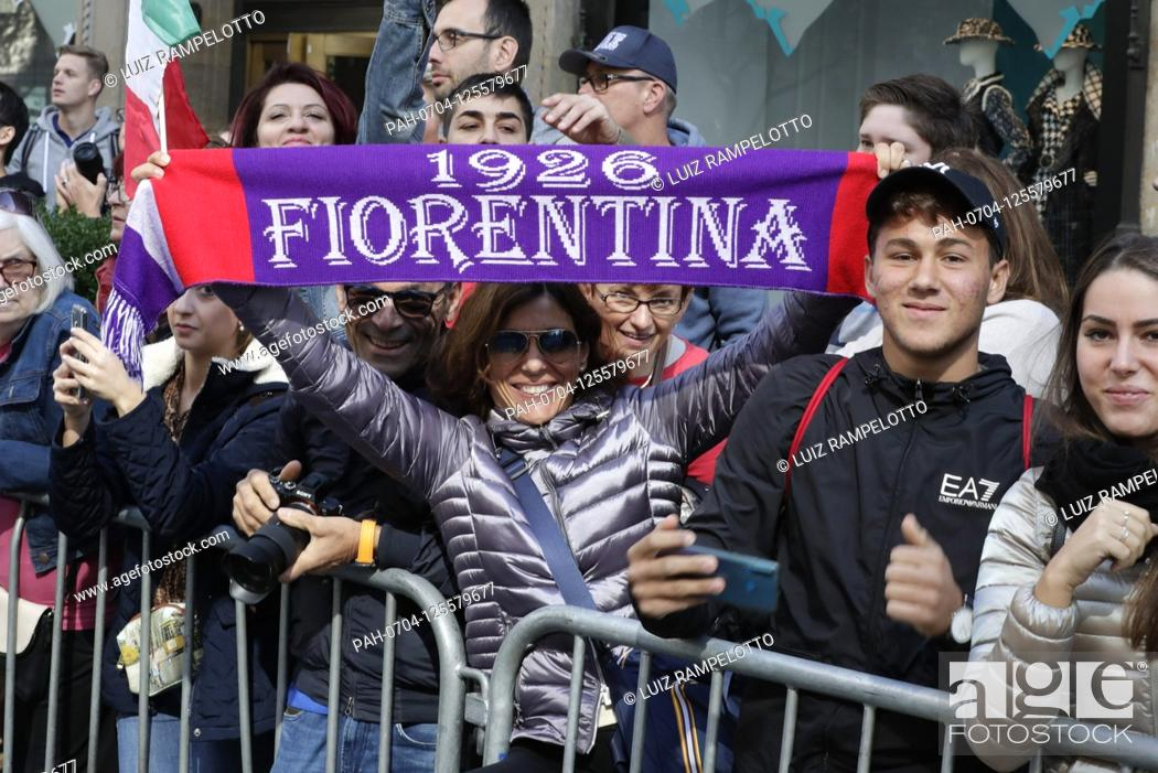 Stock Photo: Fifth Avenue, New York, USA, October 15, 2019 - Thousands of Peoples Participated the 2019 Columbus Day Parade in New York City.