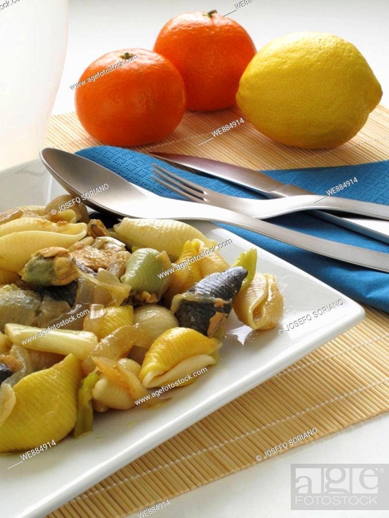 Imagen: Shells, Pasta Siciliana.