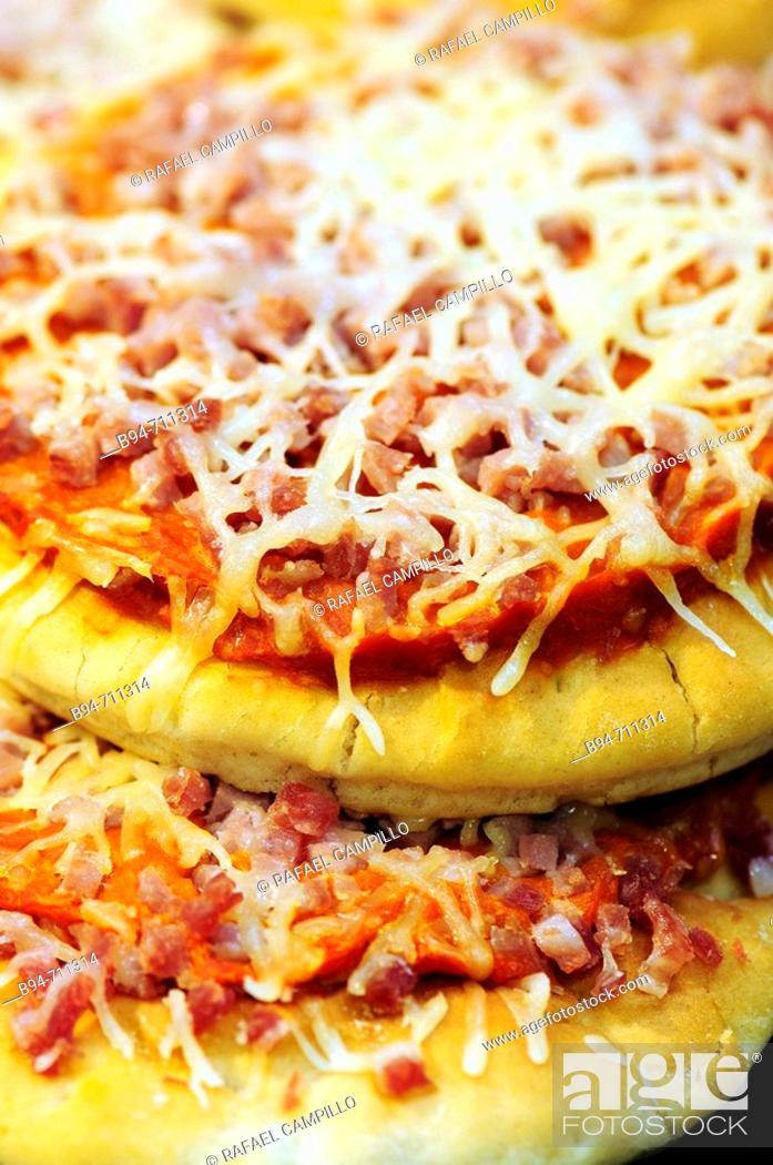 Stock Photo: Pizzetas.