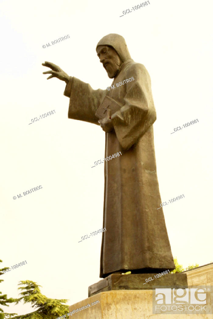 Stock Photo: Saint Charbel, Lebanon.