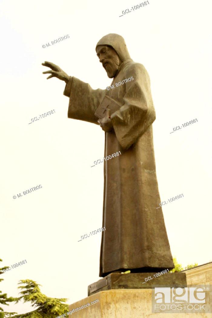 Stock Photo: Saint Charbel, Lebanon.