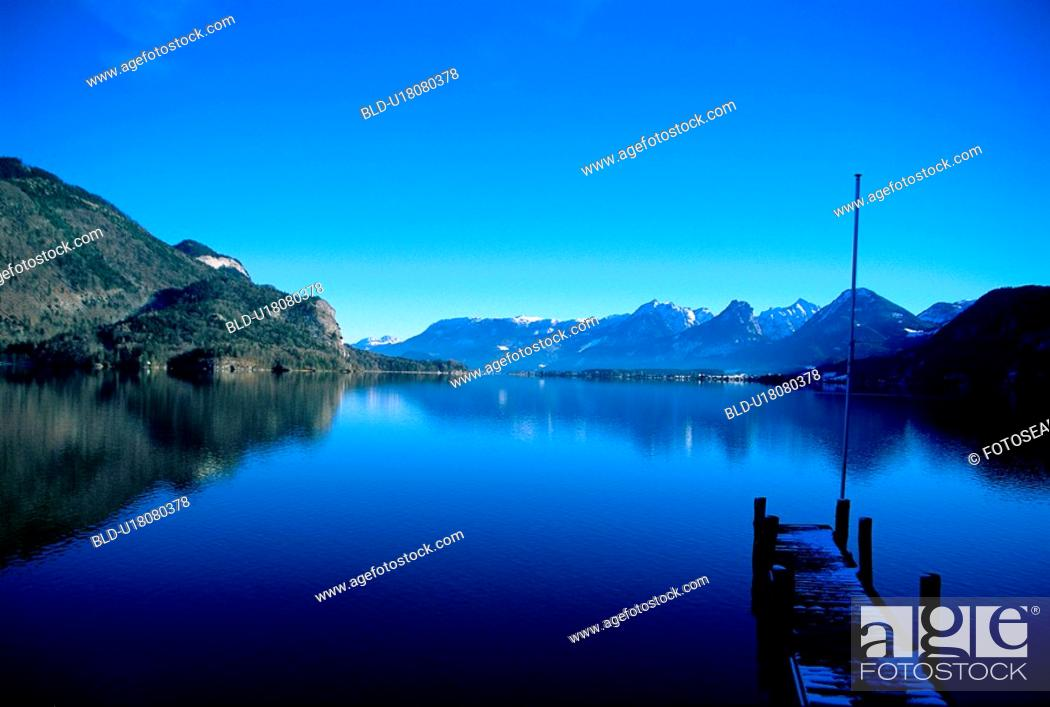 Stock Photo: StGilgen, scene, salzburg, Austria, Europe, tourist resort.