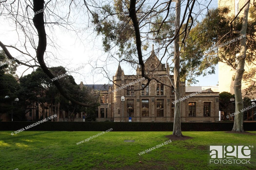 Imagen: Conversion of the Gothic Revival Baldwin Spencer Building at the University of Melbourne serves as an information, resource and.