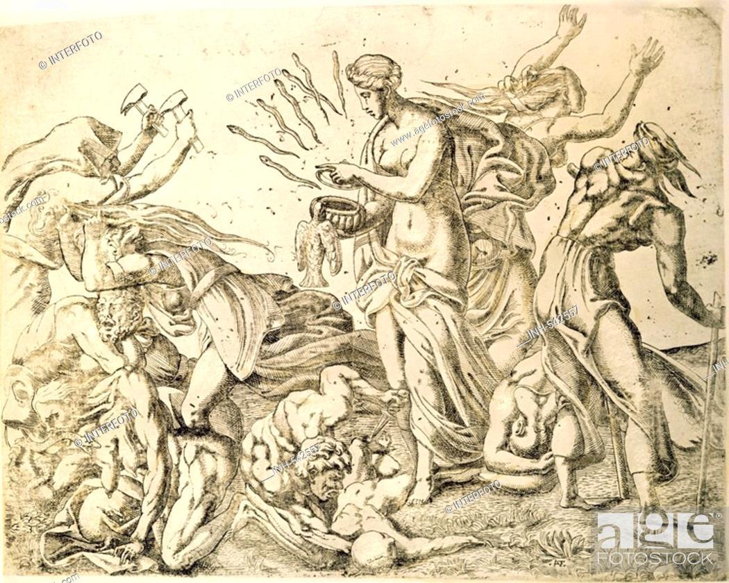 Religion Ancient World Greek Mythology Pandora Releasing The
