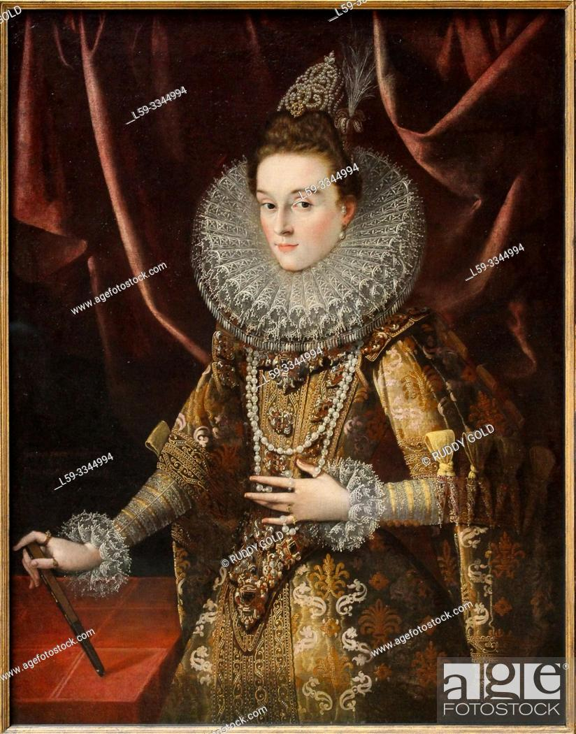 Imagen: 'Infanta Isabella Clara Eugenia of Spain', 1599, Peter Paul Rubens (1577-1640).