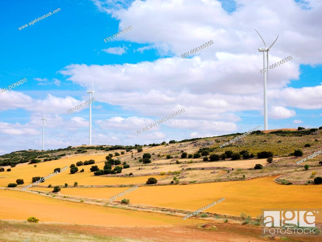Stock Photo: Wind Farm.