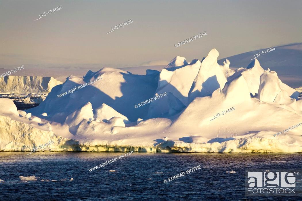Stock Photo: Icebergs, Antarctic Sound, Weddell Sea, Antarctica.