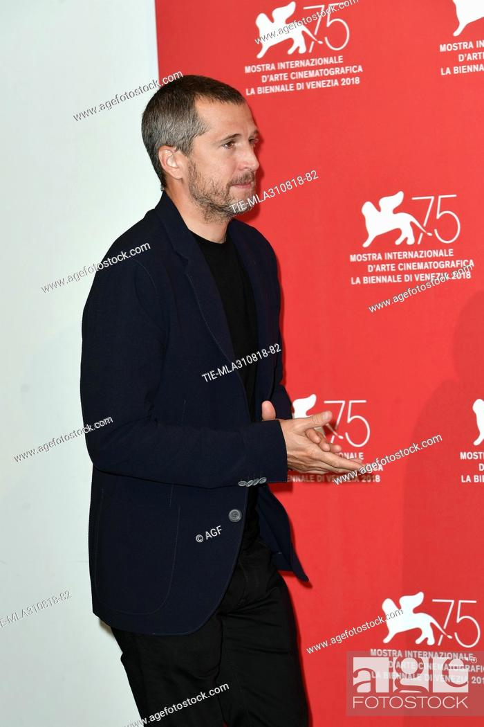 Guillaume Canet during Double Vies photocall. 75th Venice International  Film Festival, Stock Photo, Picture And Rights Managed Image. Pic.  TIE-MLA310818-82   agefotostock