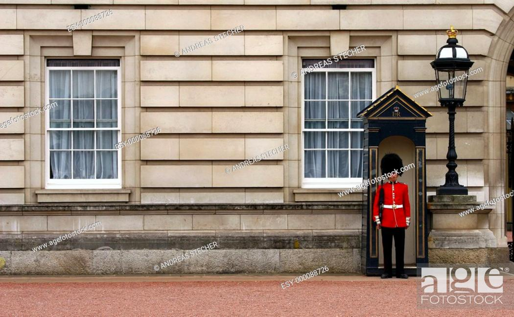 Stock Photo: The Guard.