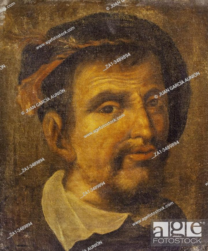 Imagen: Ferdinand Columbus, Spanish bibliographer and cosmographer, the second son of Christopher Columbus. Portrait painted by unknown artist.