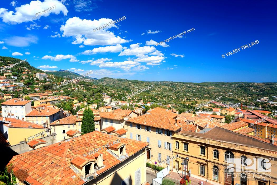 Stock Photo: Grasse, Alpes-Maritimes, 06, Cote d'Azur, PACA, France.
