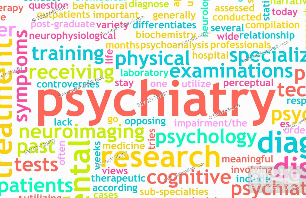 Stock Photo: Psychiatry.
