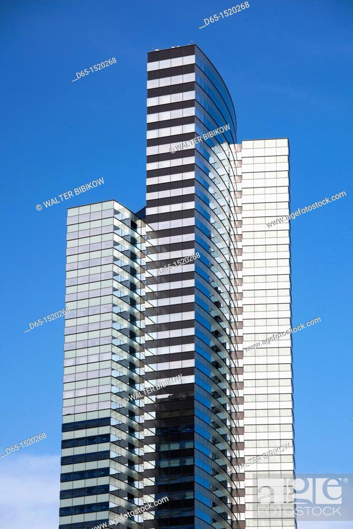 Stock Photo: USA, Nevada, Las Vegas, CityCenter, Vdara Hotel, detail.