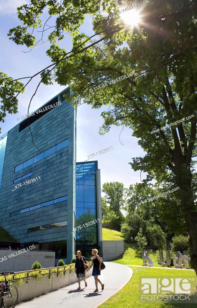 Stock Photo: Kumu Art Museum,in Kadrioru Park,Tallinn, Estonia.
