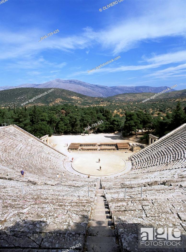 ancient greek theatre epidaurus unesco world heritage site