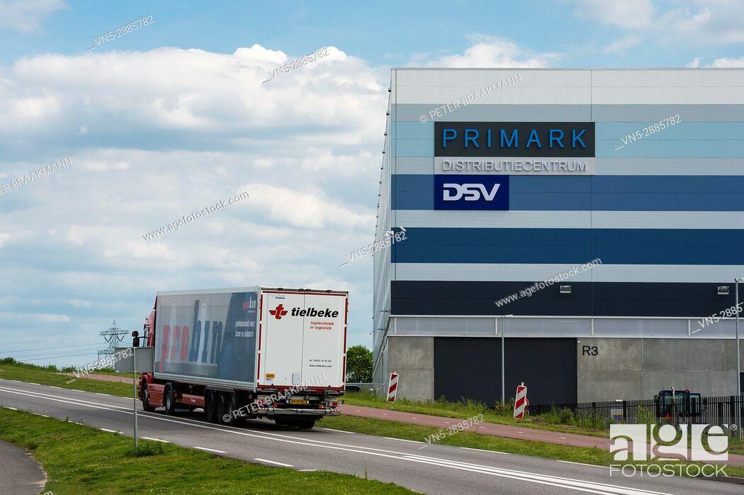 Stock Photo: Primark Distribution Centrum Roosendaal Borchwerf II.