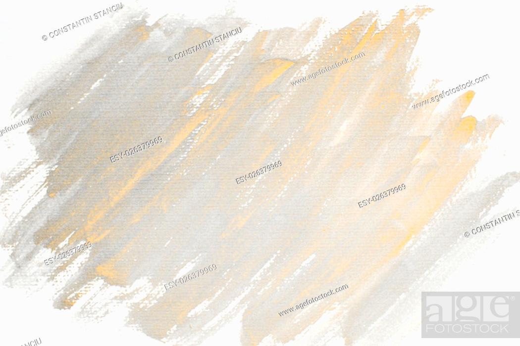 Stock Photo: Monochrome abstract water color textured background.