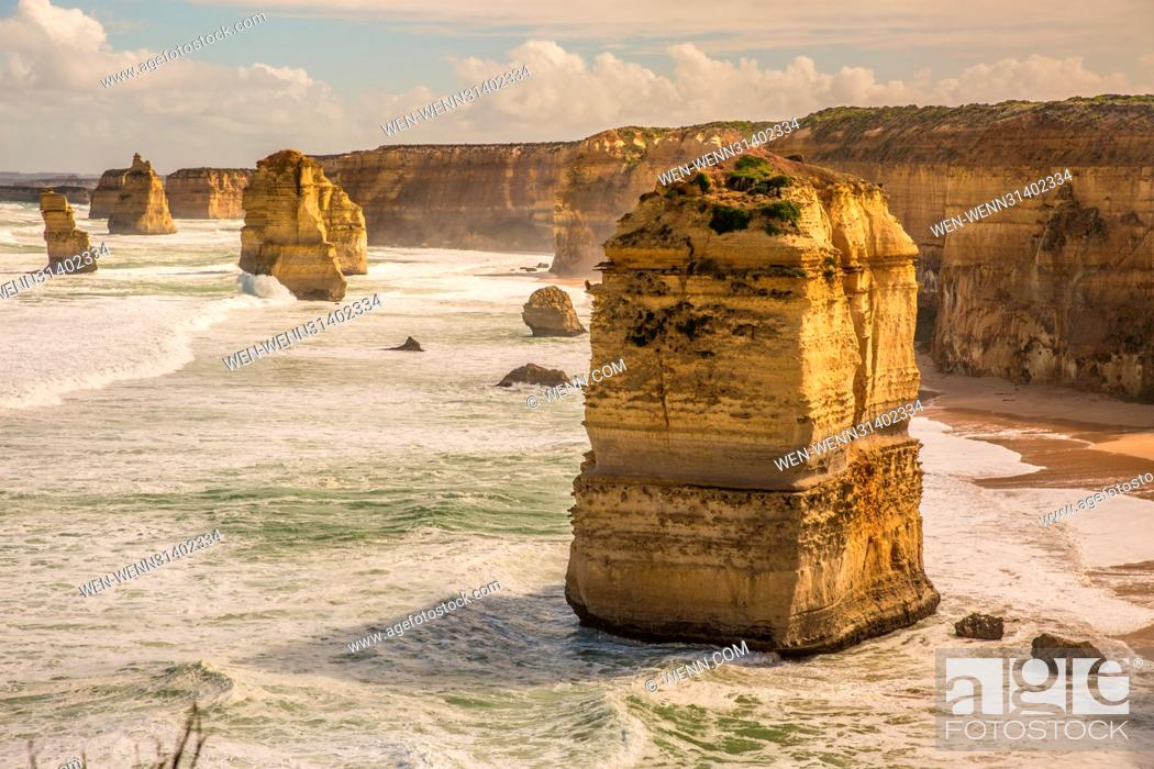 Imagen: Landscape shots from locations along the Great Ocean Road in Australia Featuring: View Where: Port Campbell, Australia When: 30 Mar 2017 Credit: WENN.