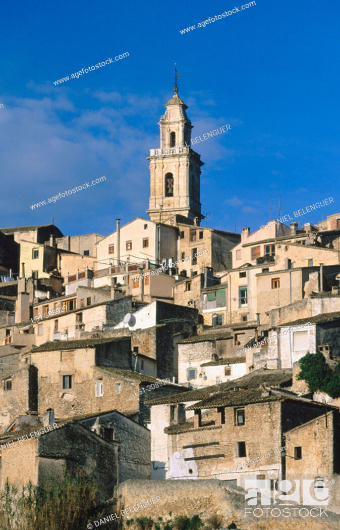 Stock Photo: Bocairent in Valencia province, Spain.