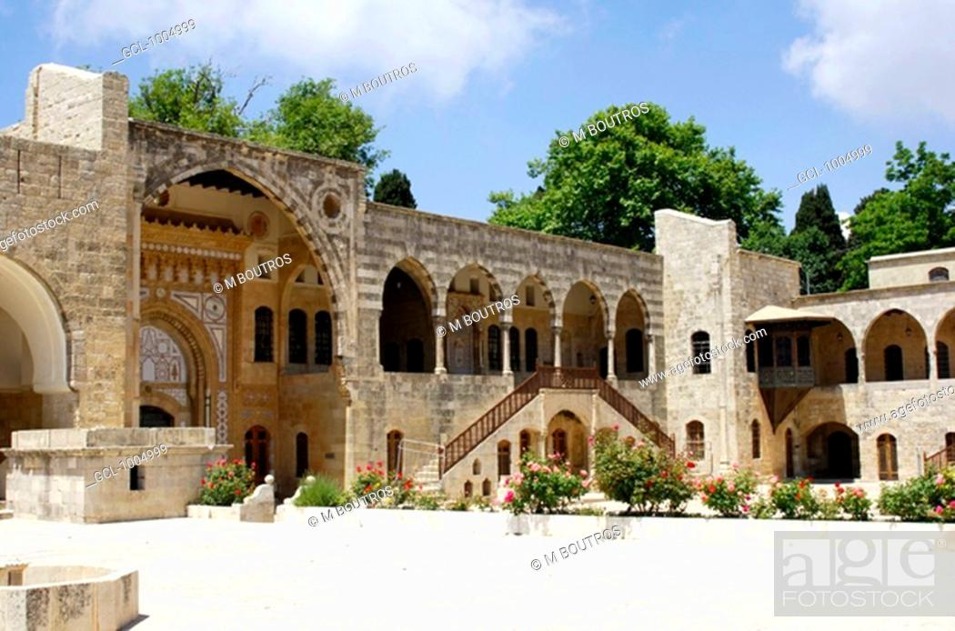 Stock Photo: Beiteddine Palace, Lebanon.