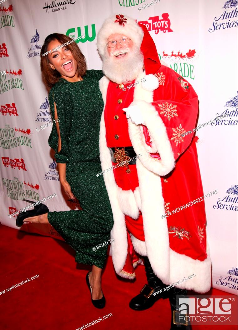 The Christmas Parade Hallmark.Celebrities Attend The 84th Annual Hollywood Christmas