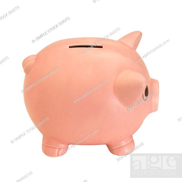 Stock Photo: piggybank.