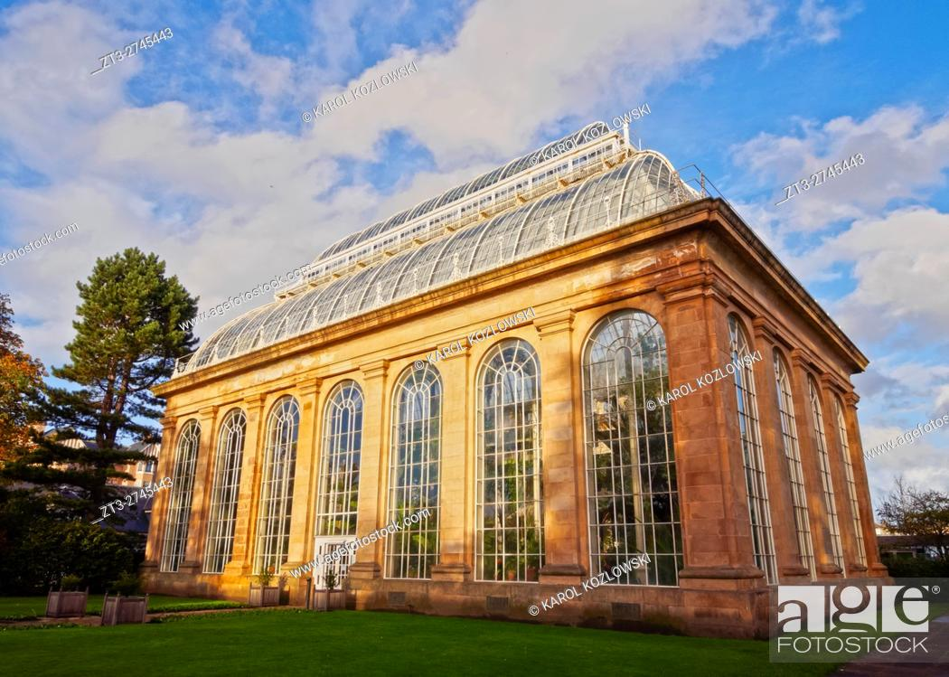 Imagen: UK, Scotland, Lothian, Edinburgh, View of the Royal Botanic Gardens. .
