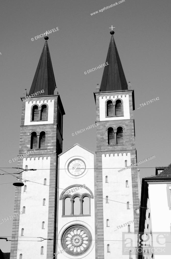 Stock Photo: Würzburg Cathedral.