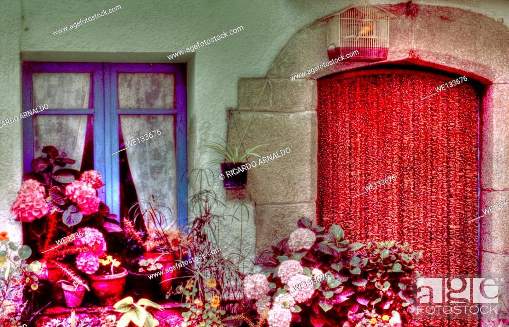 Stock Photo: House in the Costa del Sol, Spain.