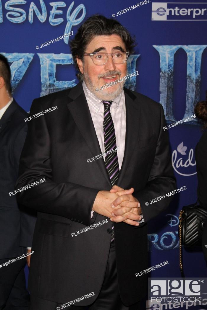 "Stock Photo: Alfred Molina at Disney's """"Frozen II"""" World Premiere held at the Dolby Theatre in Hollywood, CA, November 7, 2019. Photo Credit: Joseph Martinez / PictureLux."