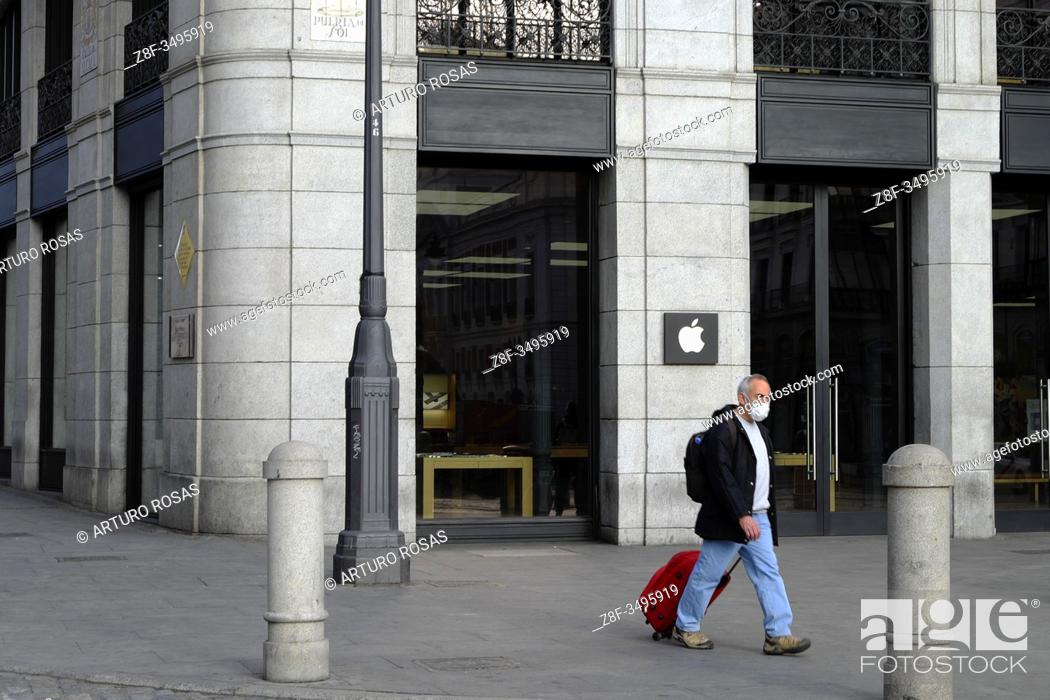 Imagen: Lockdown in Madrid during state of Emergency in Spain due to Coronavirus.
