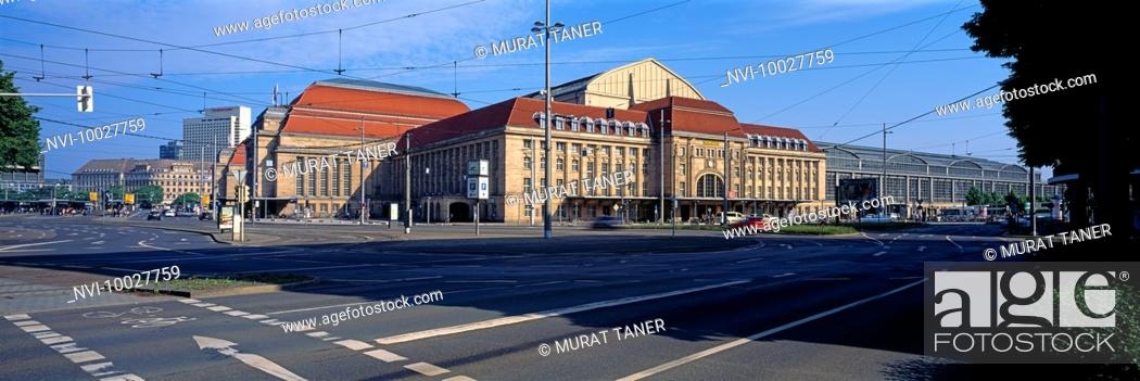Stock Photo: Leipzig Hauptbahnhof, Saxony, Germany.