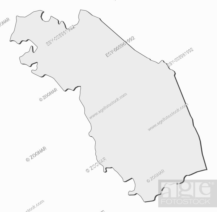Map Of Marche Italy Stock Photo Picture And Low Budget Royalty
