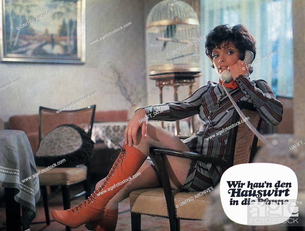 Stock Photo: Wir hau'n den Hauswirt in die Pfanne, Deutschland 1971, Regie: Franz Josef Gottlieb, Darsteller: Uschi Glas.