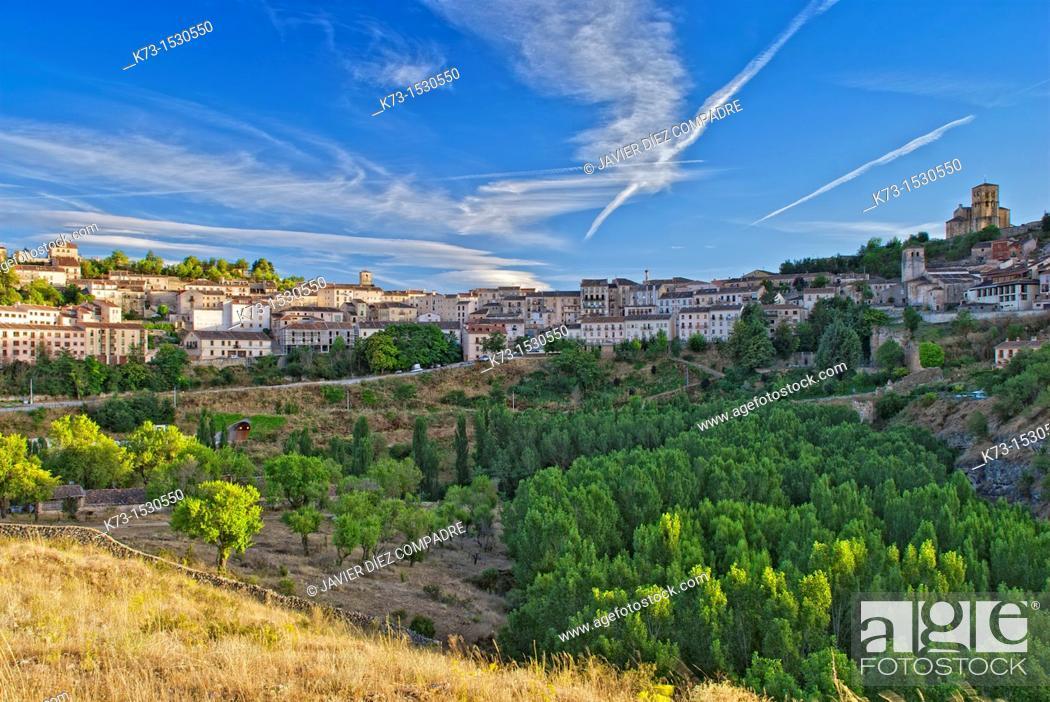 Stock Photo: Sepúlveda. Segovia Province. Castilla y Leon. Spain.