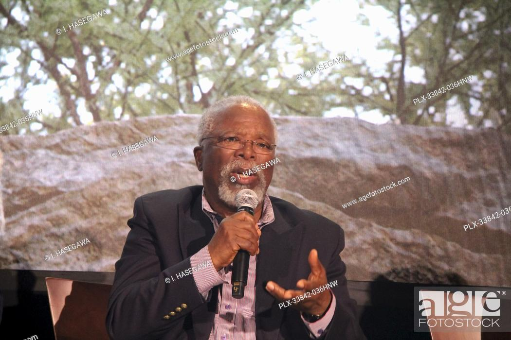 """Stock Photo: John Kani 07/10/2019 """"""""The Lion King"""""""" Press Conference held at the Montage Beverly Hills Luxury Hotel in Beverly Hills, CA. Photo by I."""