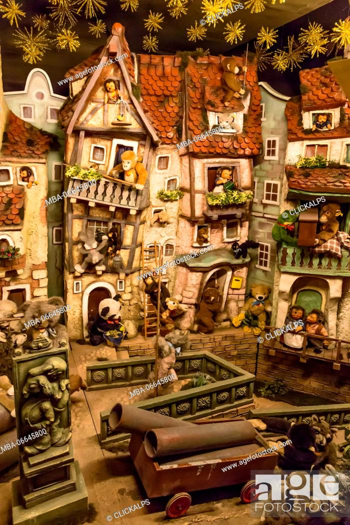 stock photo rothenburg ob der tauber bavaria germany europe traditional german christmas decoration