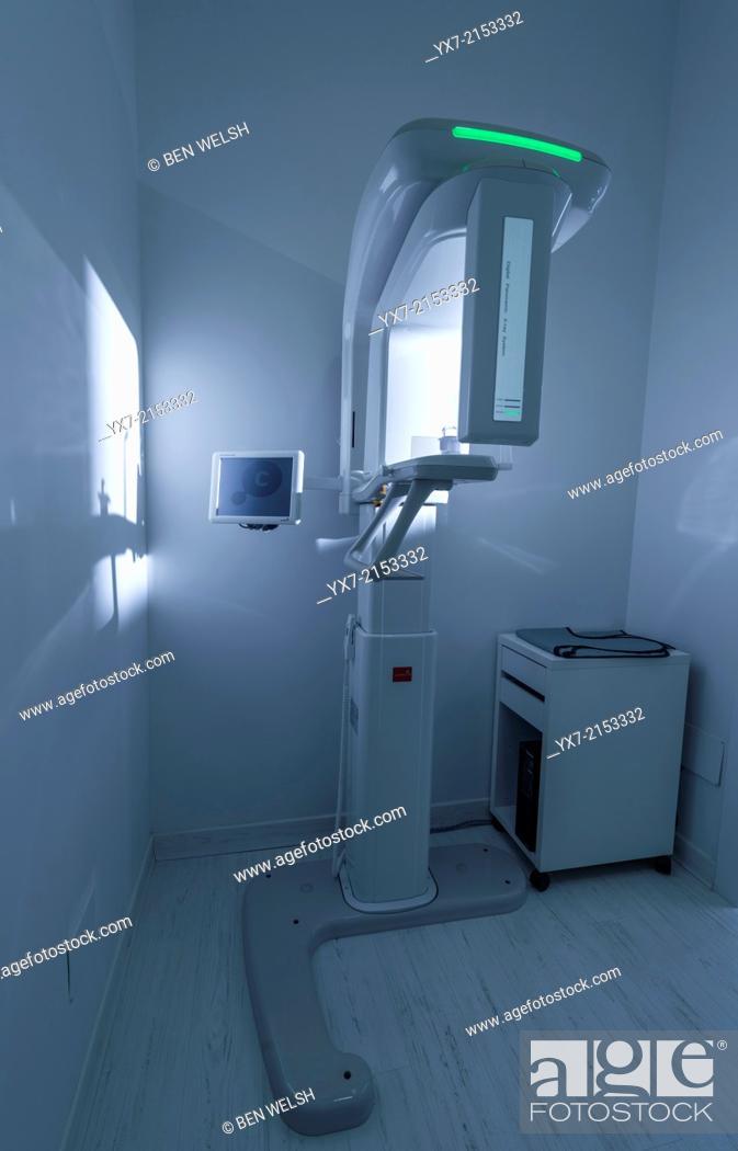 Stock Photo: Dental X-Ray machine.