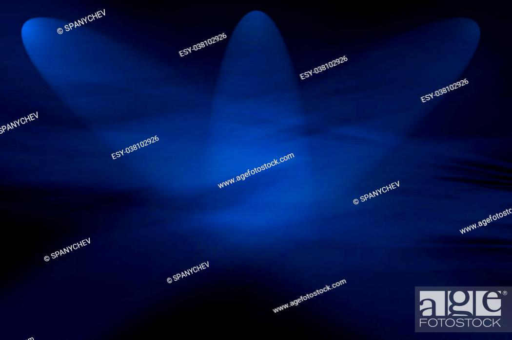 Imagen: Abstract computer generated blue background for technology, business or electronics products.