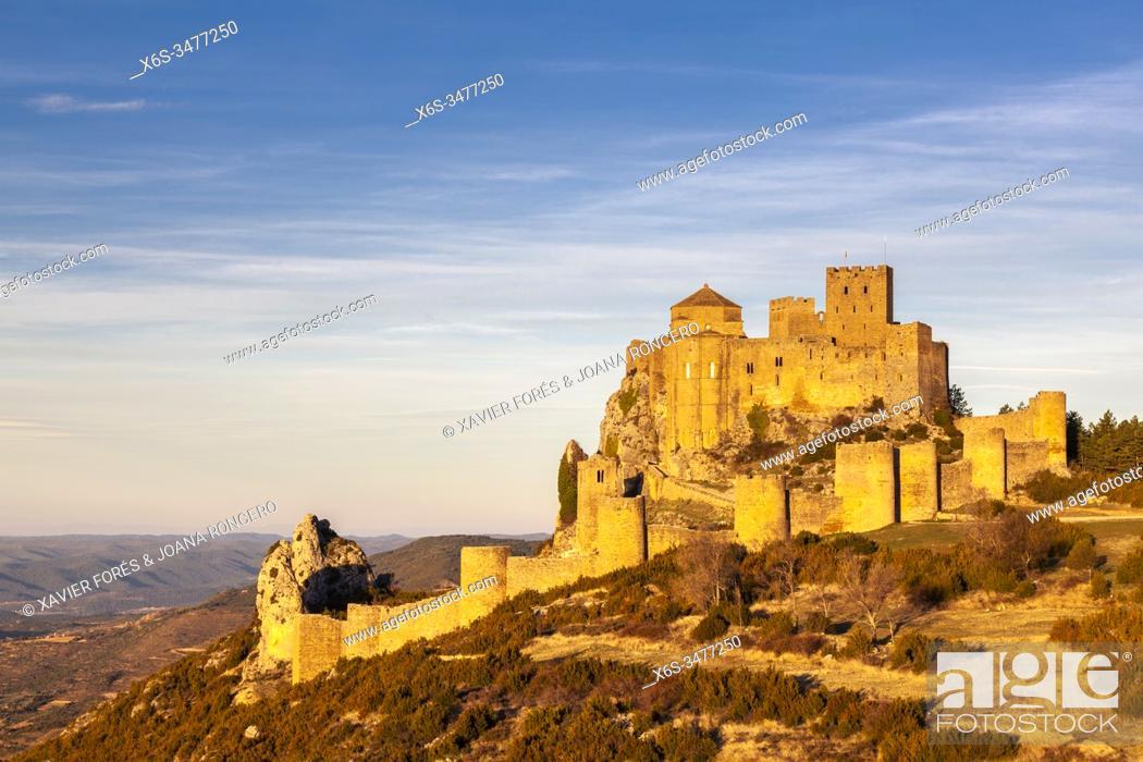 Imagen: Castle of Loarre, Loarre, La Hoya, Huesca, Spain.