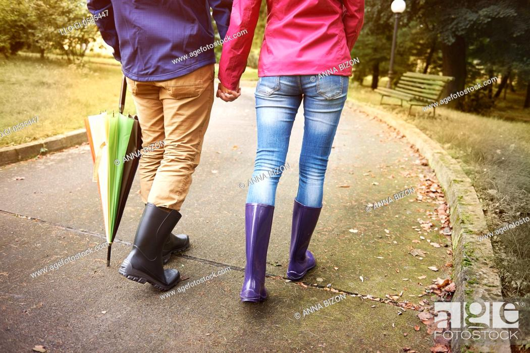 Imagen: Walking in rainy day with special person. Debica, Poland.