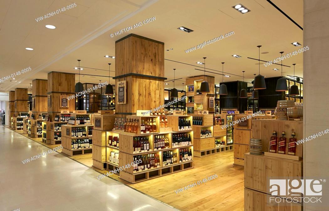 6fd6d53529ed Stock Photo - Selfridges Wine Shop