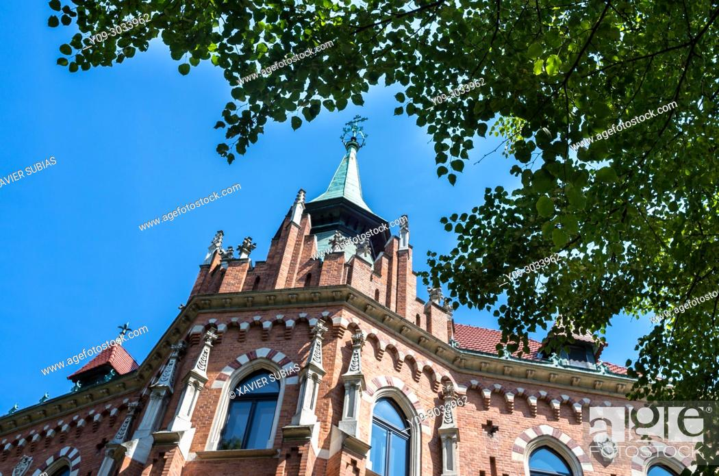 Stock Photo: Higher Theological Seminary of the Archdiocese, Krakow, Poland.