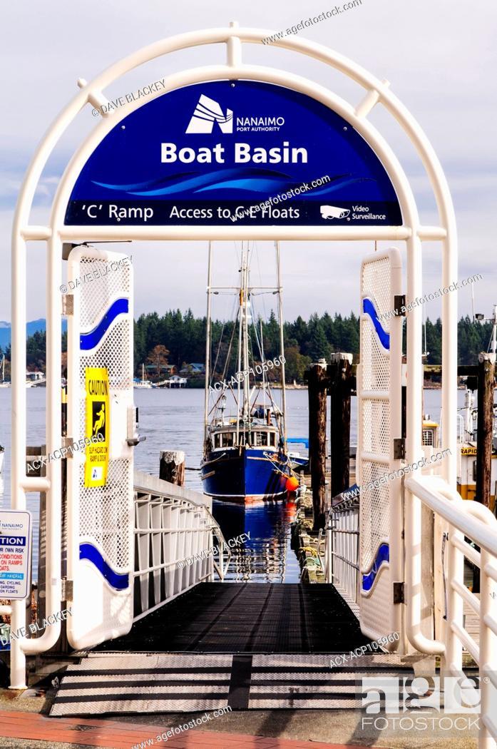 Imagen: The Boat Basin at the waterfront in Nanaimo, British Columbia.