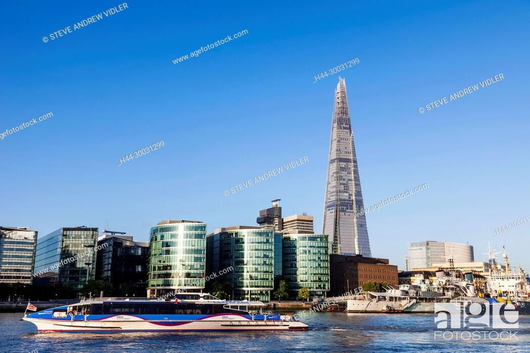 Imagen: England, London, Southwark Skyline and The Shard.