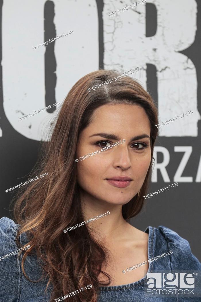 Imagen: Ivana Lotito during the photocall of tv series Gomorra - La Serie 3rd season, Rome, ITALY-13-11-2017.