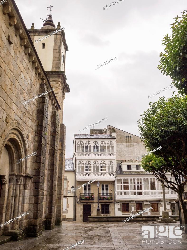 Stock Photo: Vivero o Viveiro. Lugo. Galicia. España.