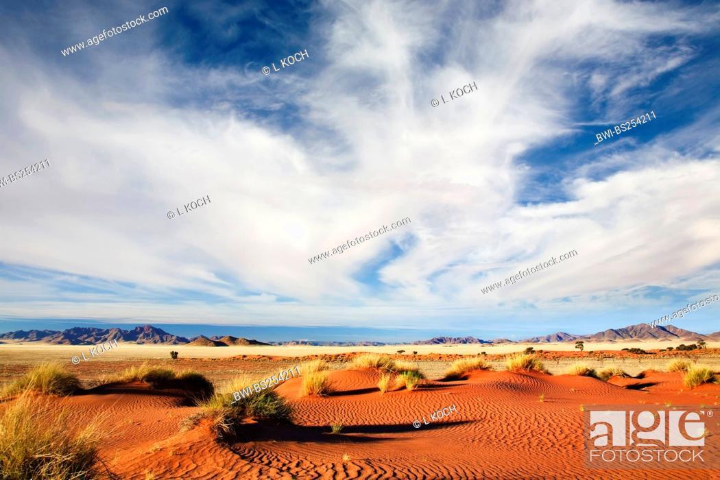 Stock Photo: desert landscape, Namibia, Namib Naukluft National Park.
