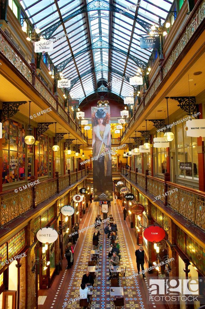 Imagen: Strand Arcade, Sydney, Australia.