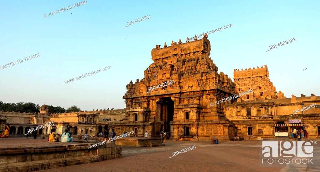 Brihadeeswarar Temple, Gopuram or gate tower, Thanjavur